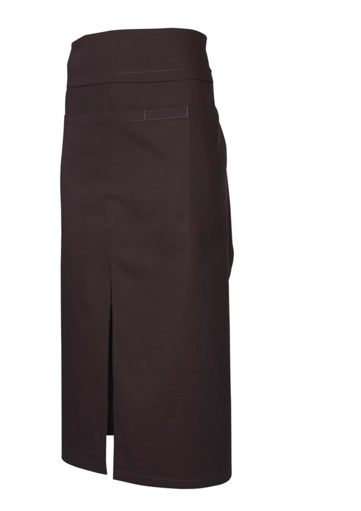 Biz Collection-Biz Collection Continental Style Full Length Apron-Chocolate / 86 x 86-Corporate Apparel Online - 2