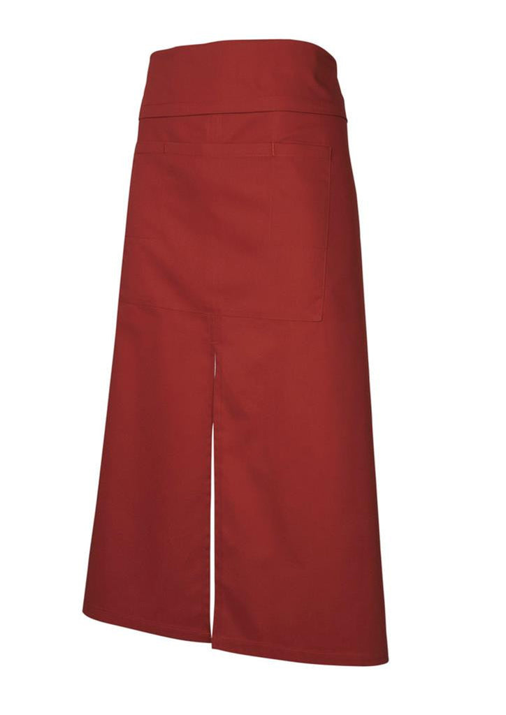 Biz Collection-Biz Collection Continental Style Full Length Apron-Claret / 86 x 86-Corporate Apparel Online - 3