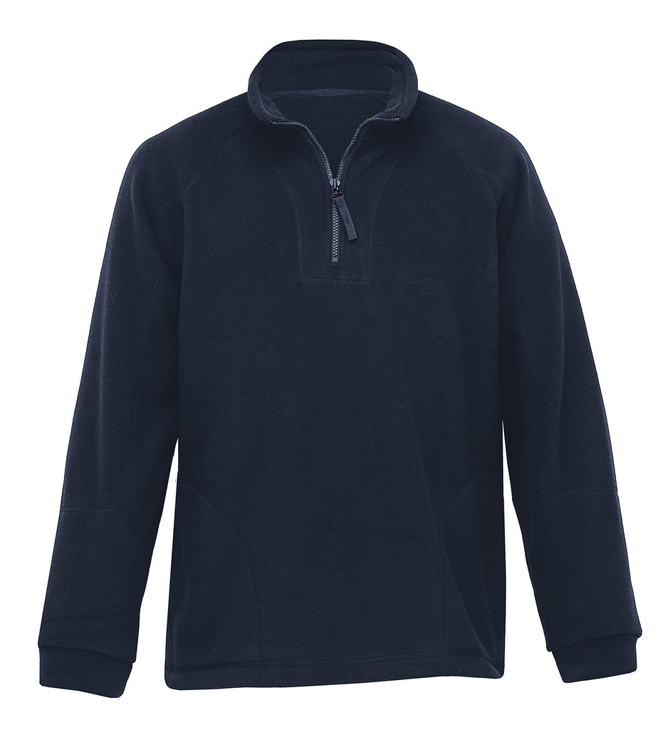 Gear For Life-Gear For Life Gents Detailed Polar Fleece Pullover-Navy / 3XS-Corporate Apparel Online - 3