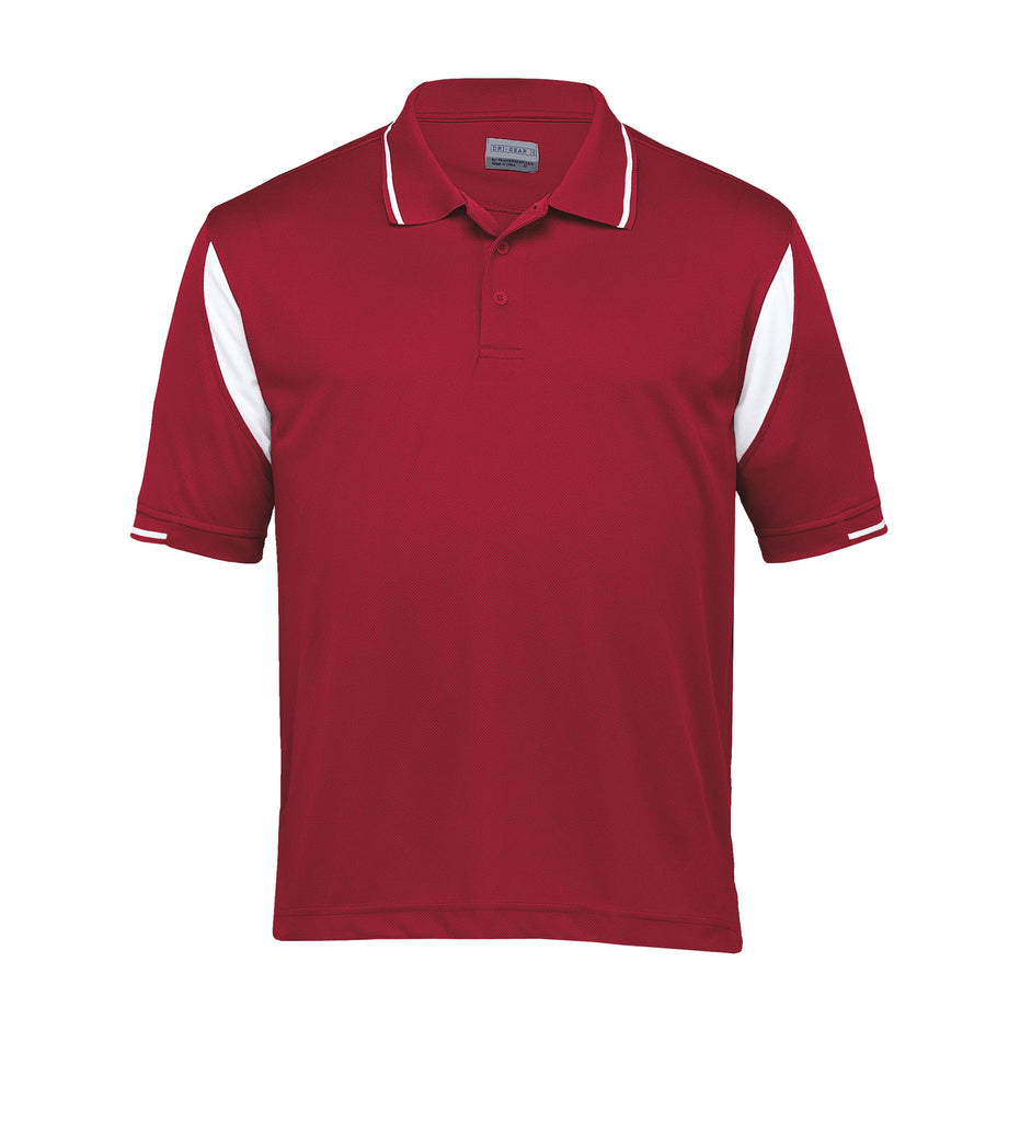 Gear For Life-Gear For Life Dri Gear Insert Polo-Red/White / S-Corporate Apparel Online - 7