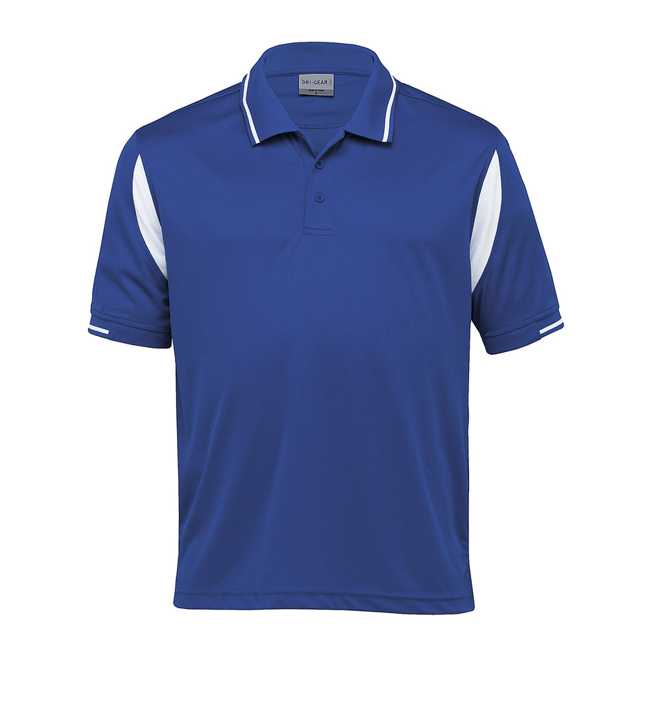 Gear For Life-Gear For Life Dri Gear Insert Polo-Royal/White / S-Corporate Apparel Online - 8