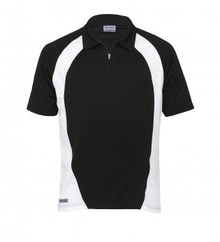 Gear For Life-Gear For Life Dri Gear Mens Active Blitz Polo-Black/White / S-Uniform Wholesalers - 2