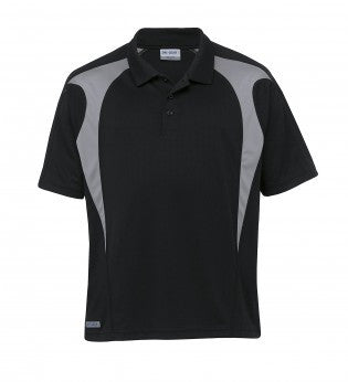 Gear For Life-Gear For Life Gear Spliced Zenith Impact Polo-black/aluminium / WXS-Corporate Apparel Online - 2