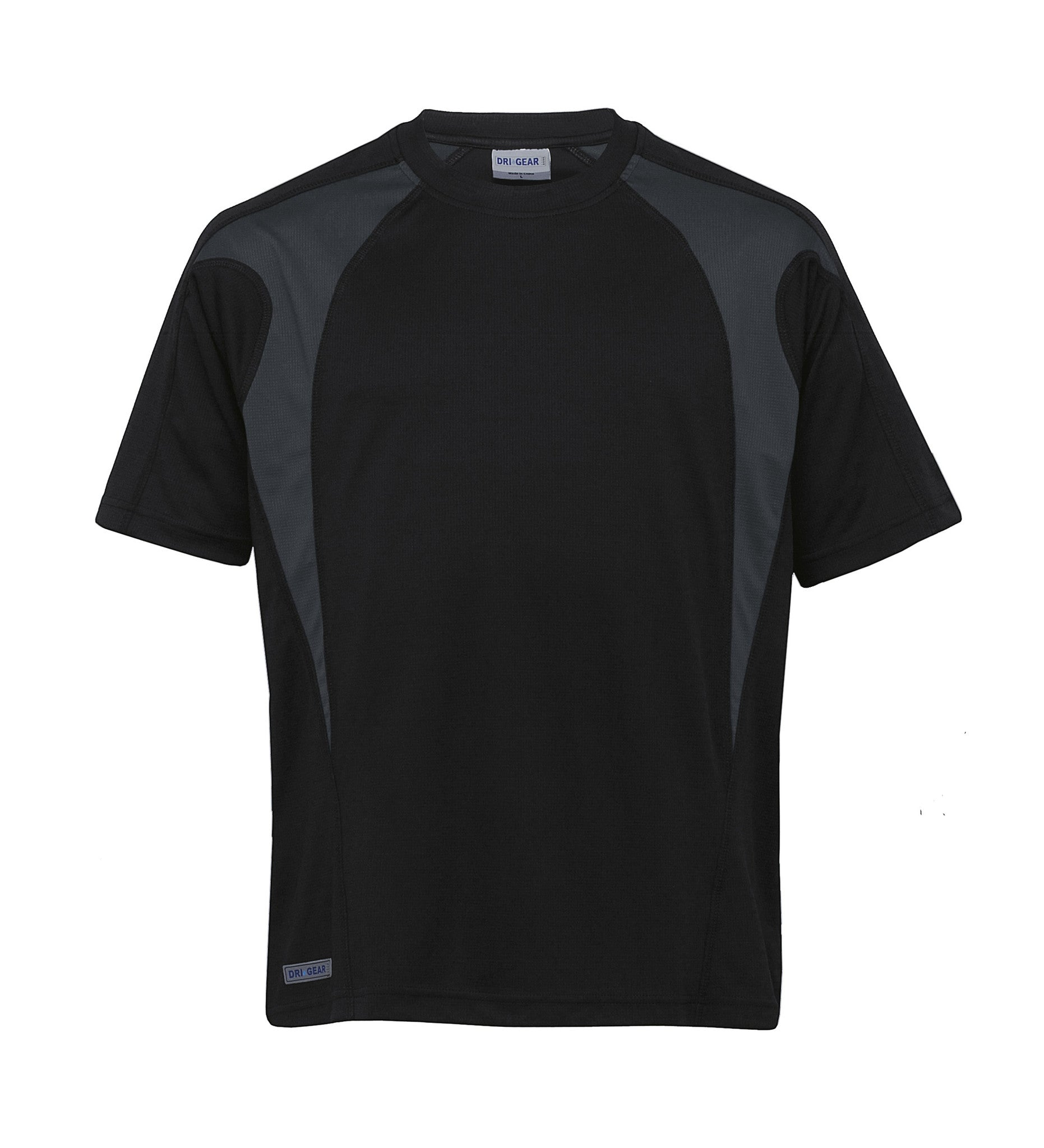 Gear For Life-Gear For Life Unisex Dri Gear Spliced Zenith Tee(1st 7 Colours)--Corporate Apparel Online - 1