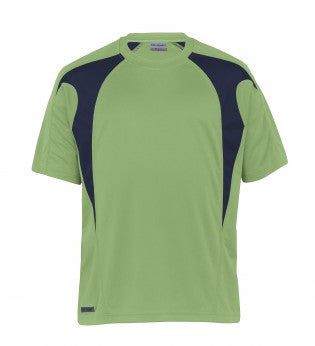 Gear For Life-f Gear For Life Unisex Dri Gear Spliced Zenith Tee-WXS / Cool Lime/Navy-Corporate Apparel Online - 4