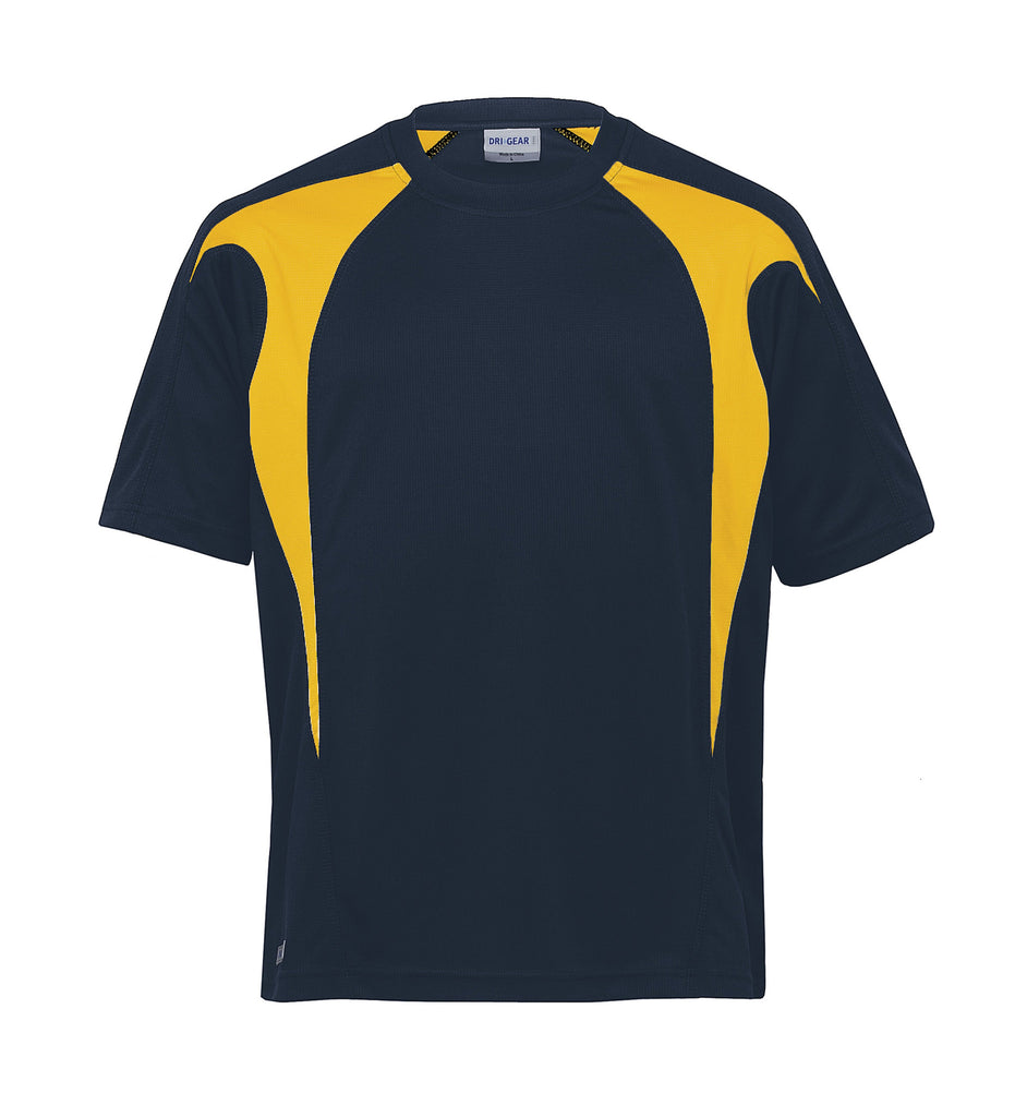 Gear For Life-Gear For Life Unisex Dri Gear Spliced Zenith Tee(1st 7 Colours)--Corporate Apparel Online - 10