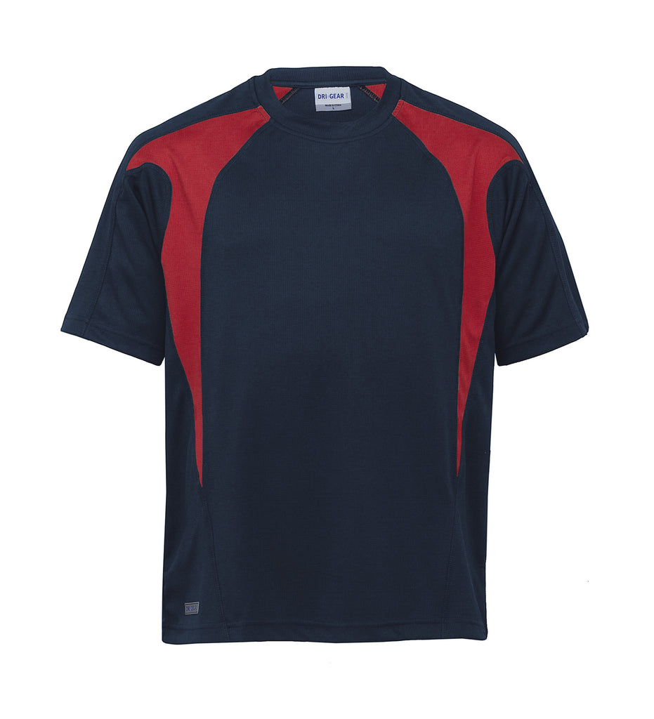 Gear For Life-Gear For Life Unisex Dri Gear Spliced Zenith Tee(1st 7 Colours)--Corporate Apparel Online - 11