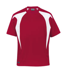 Gear For Life-Gear For Life Dri Gear Spliced Zenith Tee (2nd 8 Colours)-Red/White / XXS-Corporate Apparel Online - 4