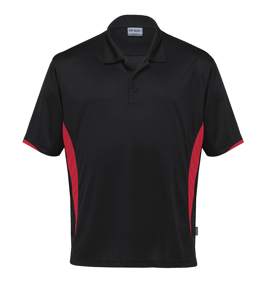 Gear For Life-Gear For Life Dri Gear Zone Polo (1st 8 Colours)-Black/Red / 2XS-Corporate Apparel Online - 3