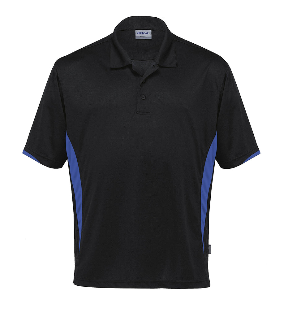 Gear For Life-Gear For Life Dri Gear Zone Polo (1st 8 Colours)-Black/Royal / 2XS-Corporate Apparel Online - 4