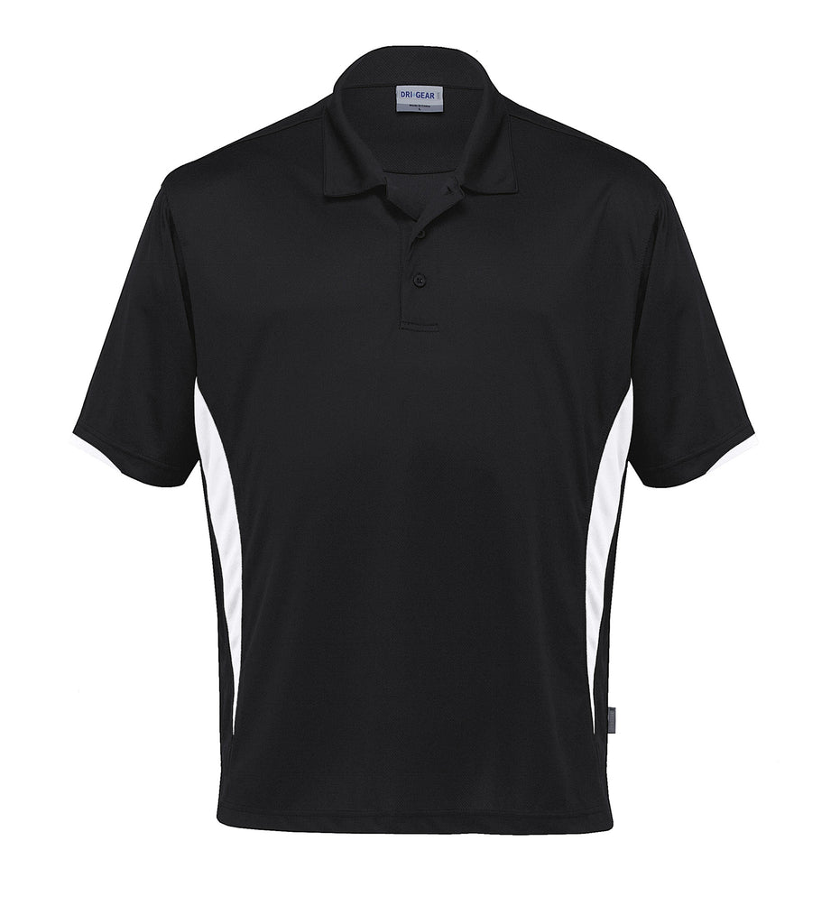 Gear For Life-Gear For Life Dri Gear Zone Polo (1st 8 Colours)-Black/White / 2XS-Corporate Apparel Online - 5