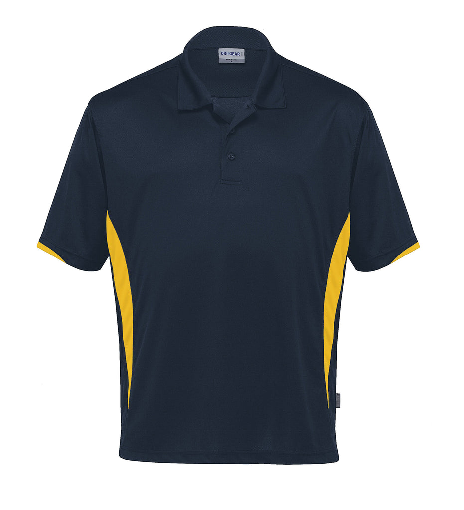 Gear For Life-Gear For Life Dri Gear Zone Polo (1st 8 Colours)-Navy/Gold / 2XS-Corporate Apparel Online - 6