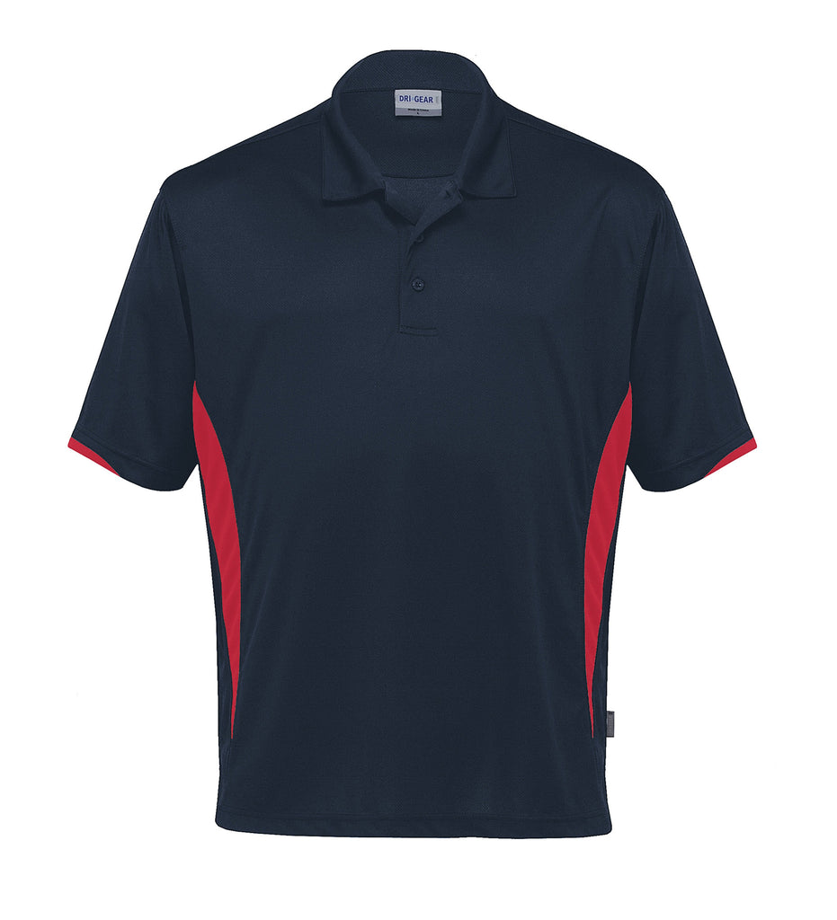 Gear For Life-Gear For Life Dri Gear Zone Polo (1st 8 Colours)-Navy/Red / 2XS-Corporate Apparel Online - 7
