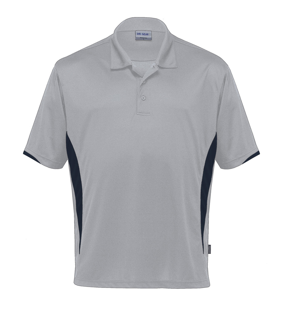 Gear For Life-Gear For Life Dri Gear Zone Polo (1st 8 Colours)-Silver/Black / 2XS-Corporate Apparel Online - 9