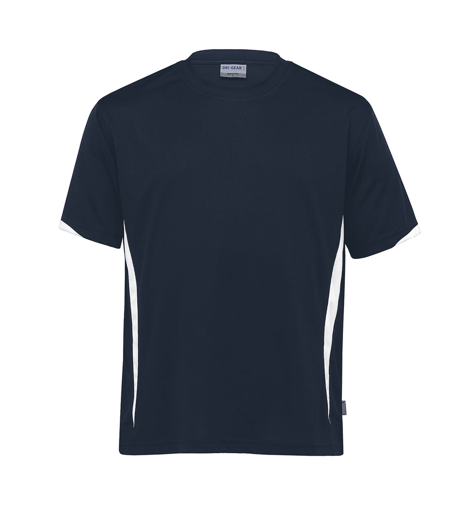 Gear For Life-Gear For Life Unisex Dri Gear Zone Tee(1st 8 Colours)-Navy/White / 2XS-Corporate Apparel Online - 8