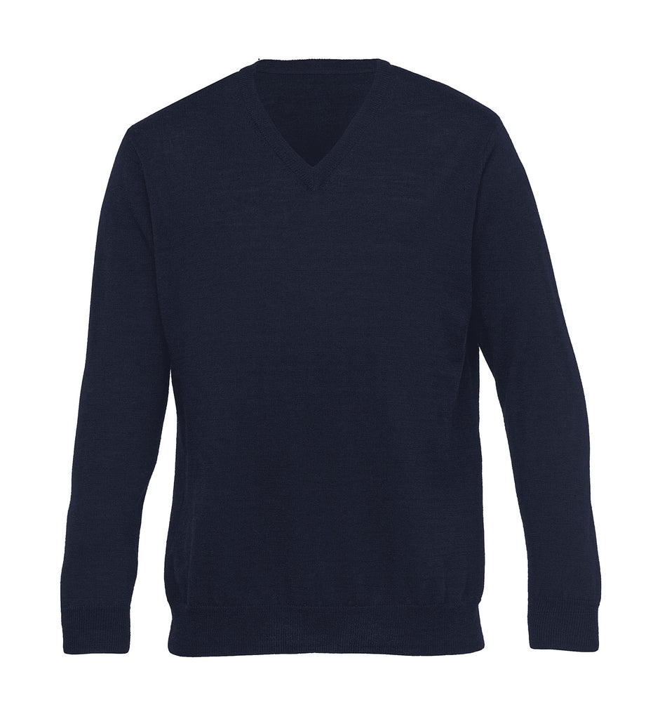Gear For Life-Gear For Life Merino Detailed Vee Pullover – Mens-Navy / S-Corporate Apparel Online - 3