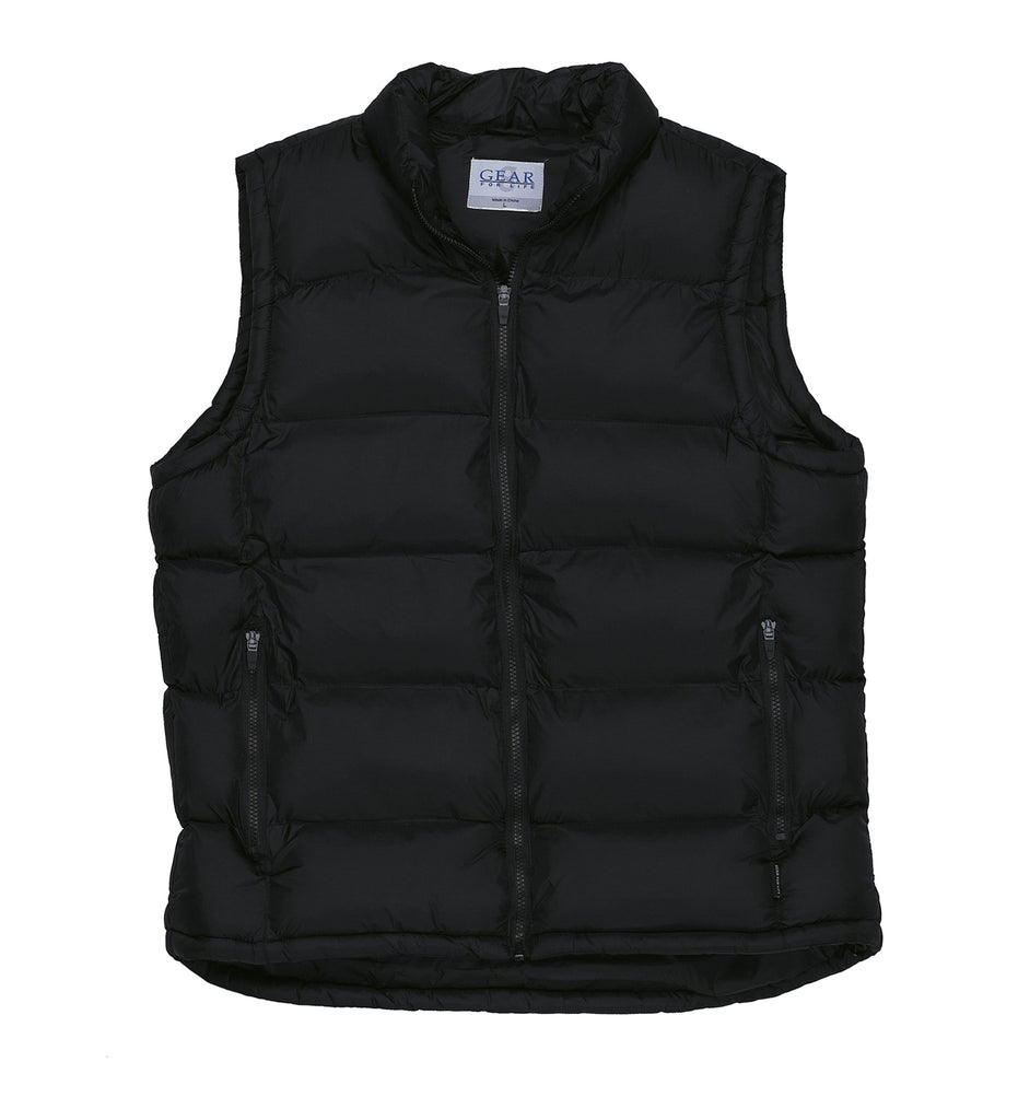 Gear For Life-Gear For Life Frontier Puffa Vest-Black / XS-Corporate Apparel Online - 2
