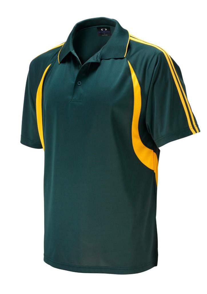 Biz Collection-Biz Collection Kids Flash Polo 1st ( 10 colour)-Forest / Gold / 4-Corporate Apparel Online - 6