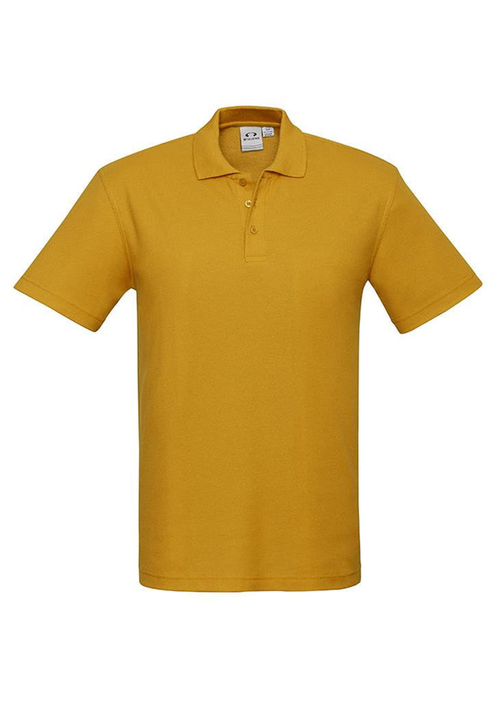 Biz Collection-Biz Collection Mens Crew Polo(1st 10 colours)-Gold / S-Corporate Apparel Online - 8