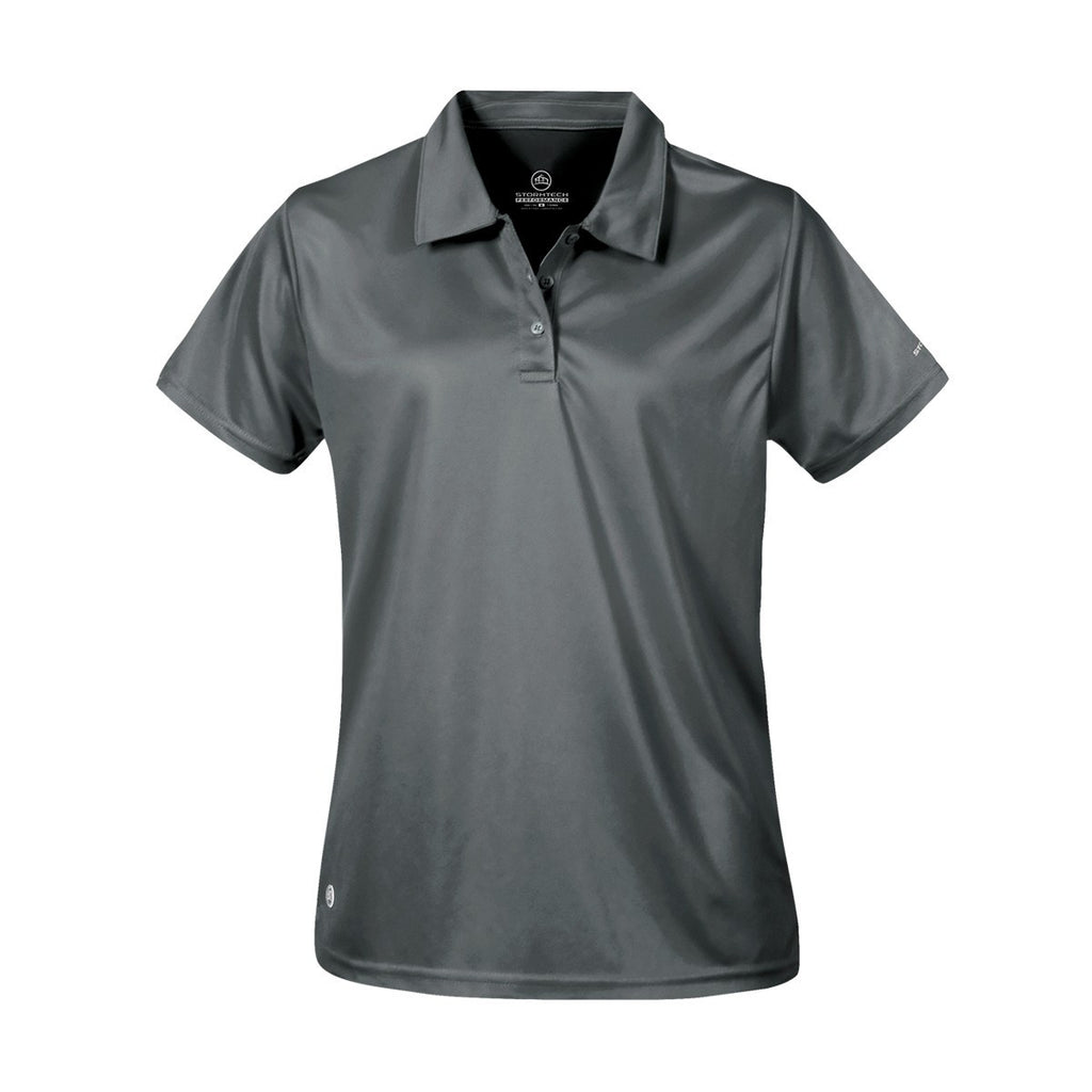 Stormtech-Stormtech Women's H2X-Dry Polo-Graphite / XS-Corporate Apparel Online - 3