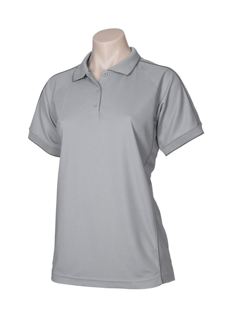 Biz Collection-Biz Collection Ladies Resort Polo-Grey / 8-Corporate Apparel Online - 4