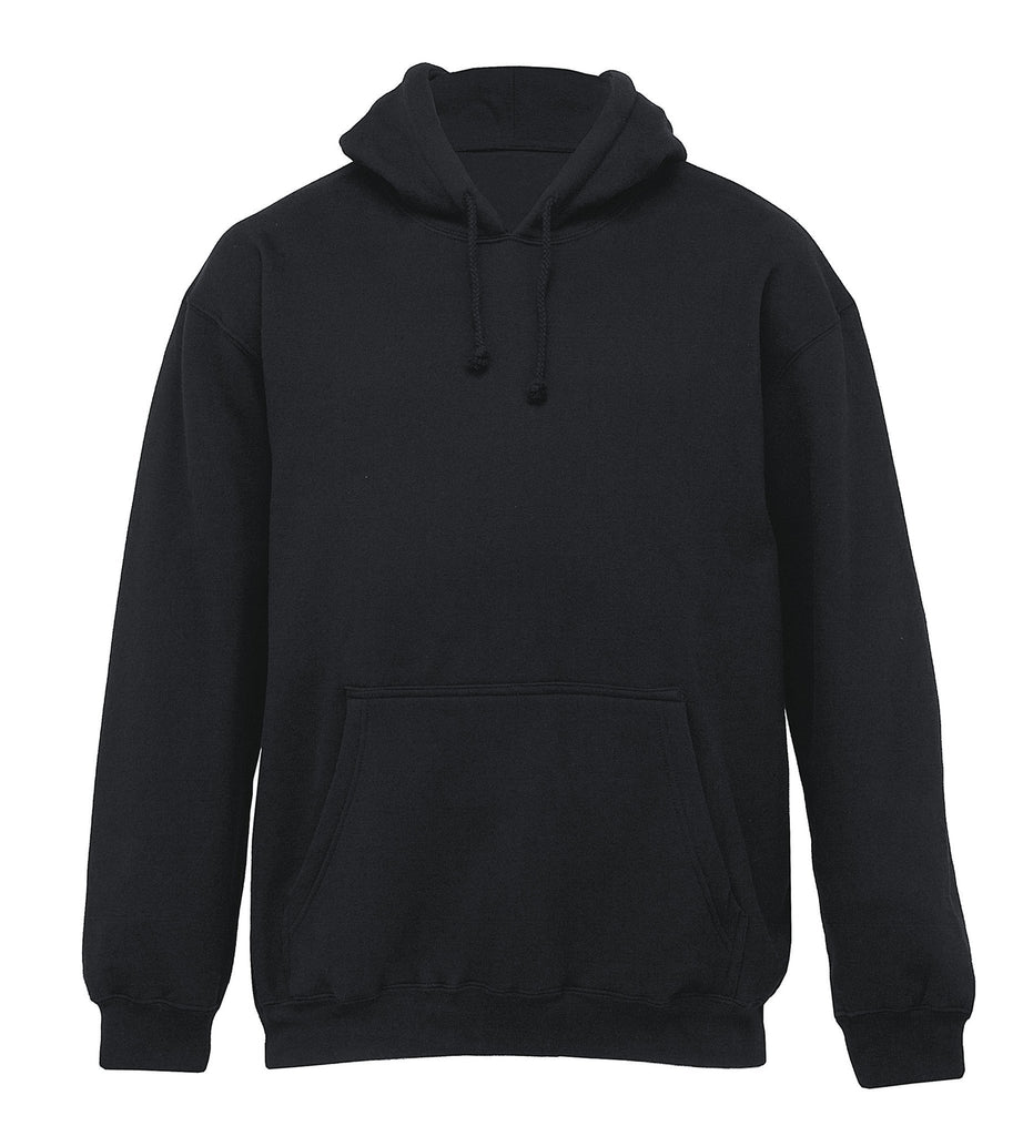 Gear For Life-Gear For Life Adult Plain Hoodie-Black / S-Uniform Wholesalers - 2