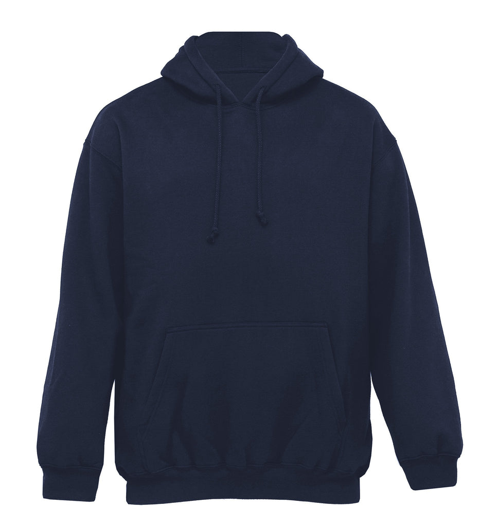 Gear For Life-Gear For Life Adult Plain Hoodie-Navy / S-Uniform Wholesalers - 3