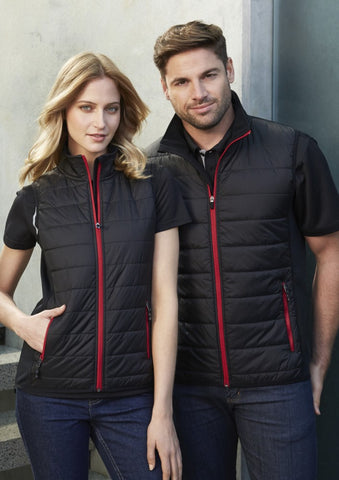Biz Collection-Biz Collection Stealth Mens Vest--Corporate Apparel Online - 1