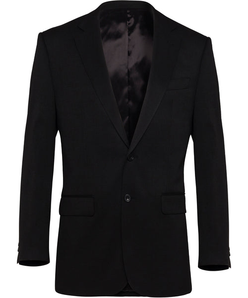 Bracks Single Breasted Two Button Plain Twill Bravks Jacket (JKTMM124)