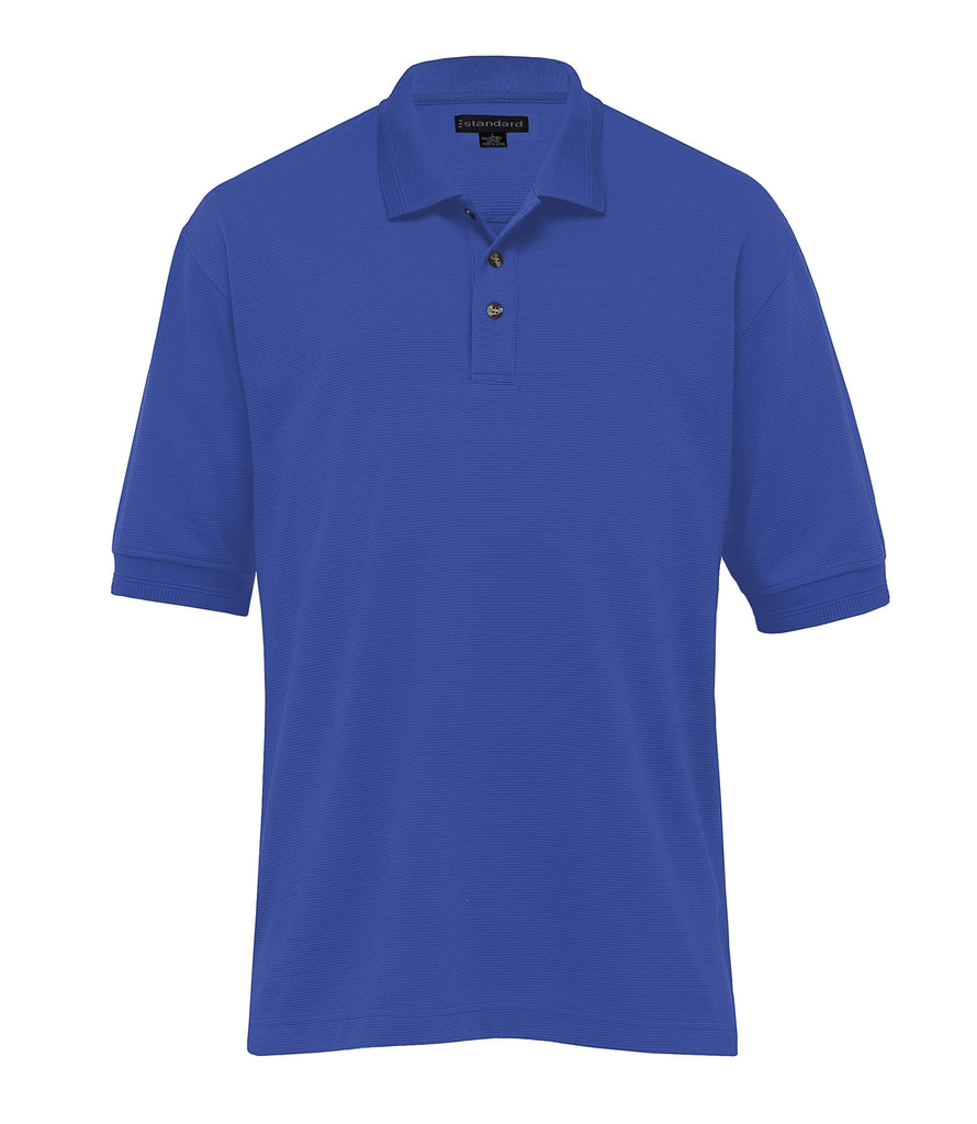 Gear For Life-Gear For Life Mens Jacquard Ottoman Balmoral Polo-Royal / S-Corporate Apparel Online - 7