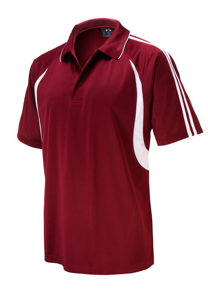 Biz Collection-Biz Collection Kids Flash Polo 1st ( 10 colour)-Maroon / White / 4-Corporate Apparel Online - 8