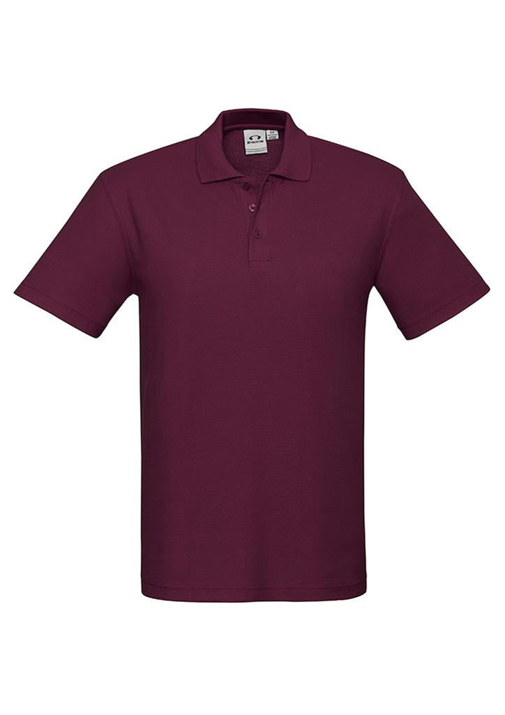 Biz Collection-Biz Collection  Kids Crew Polo(2nd 8 Colours)-Maroon / 4-Corporate Apparel Online - 5