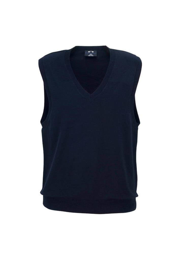 Biz Collection-Biz Collection Ladies V-Neck Vest-Navy / S-Corporate Apparel Online - 4
