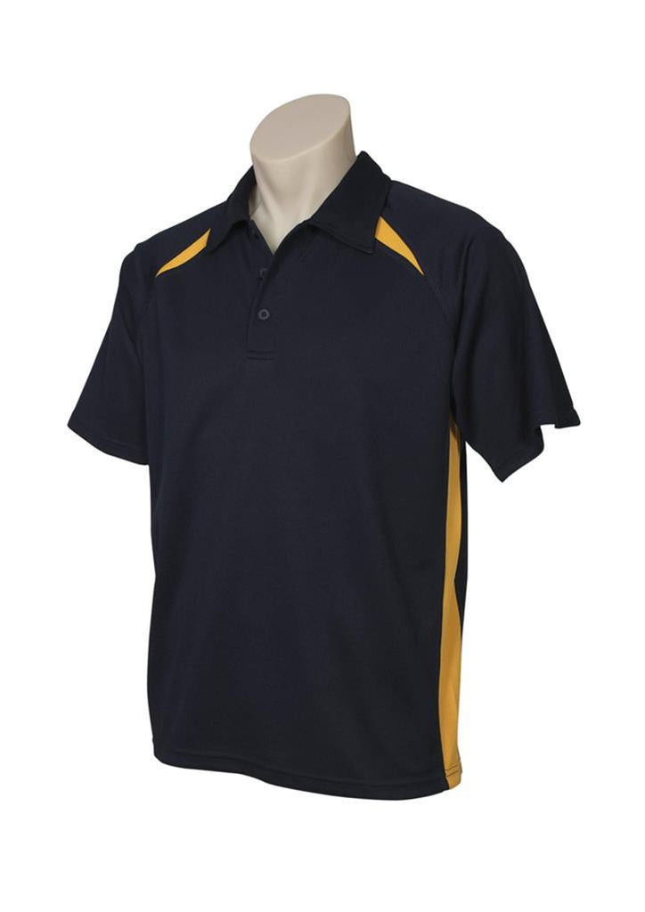 Biz Collection-Biz Collection Mens Splice Polo 2nd ( 5 Colour )-Navy / Gold / Small-Corporate Apparel Online - 5