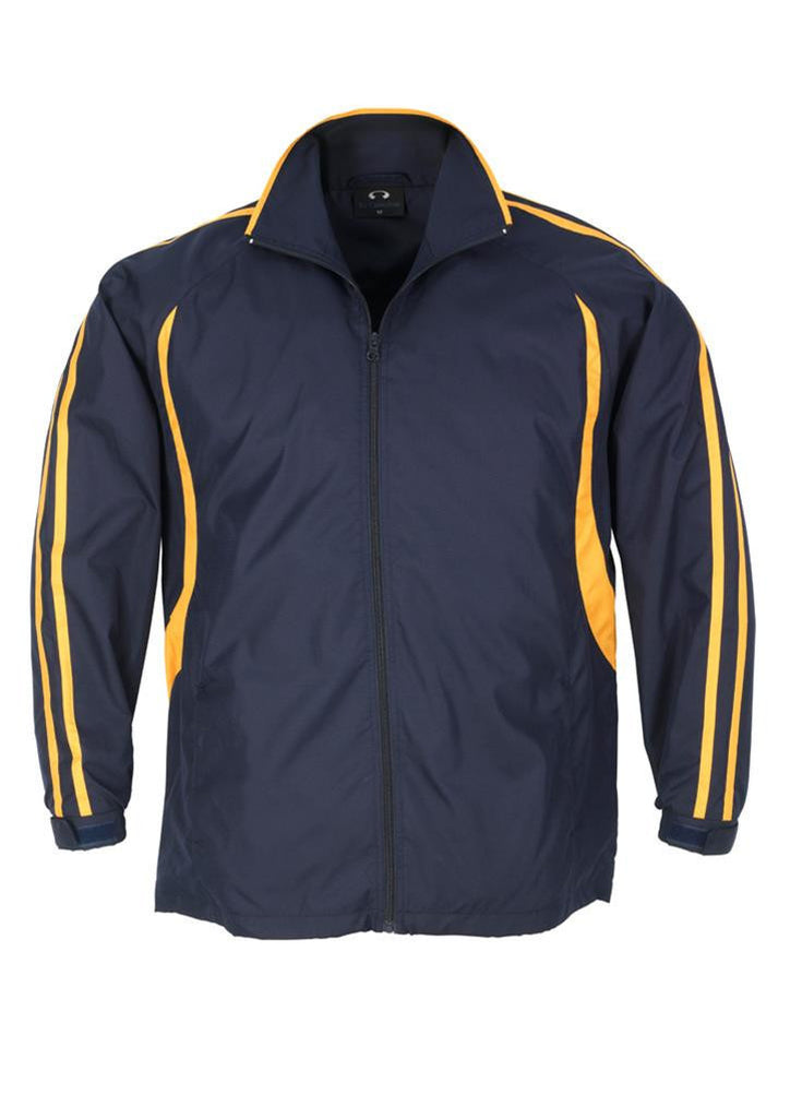 Biz Collection-Biz Collection Kids Flash Track Top-Navy / Gold / 6-Corporate Apparel Online - 9