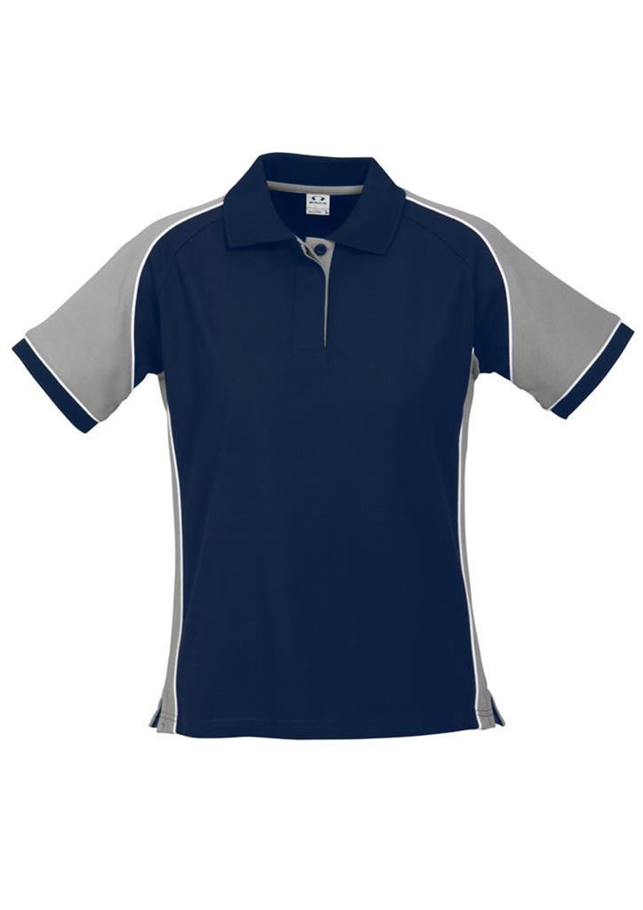 Biz Collection-Biz Collection Ladies Nitro Polo-Navy/Grey/White / 8-Corporate Apparel Online - 10