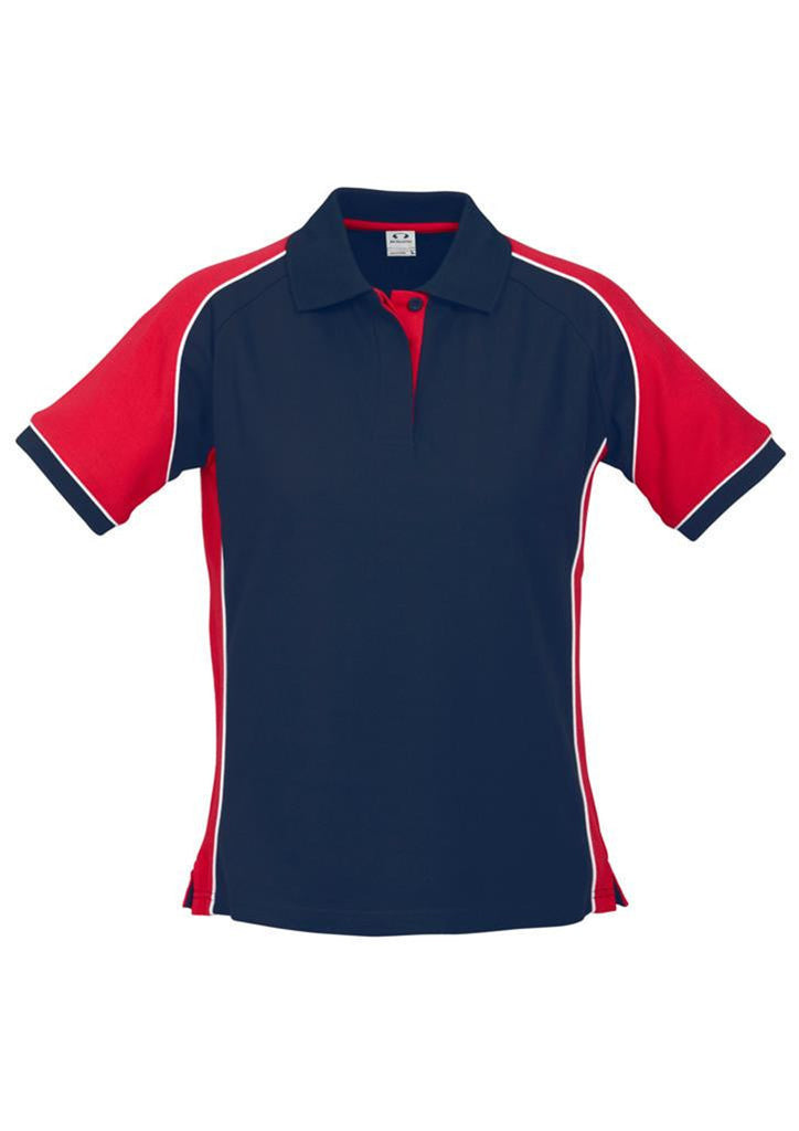 Biz Collection-Biz Collection Ladies Nitro Polo-Navy/Red/White / 8-Corporate Apparel Online - 11