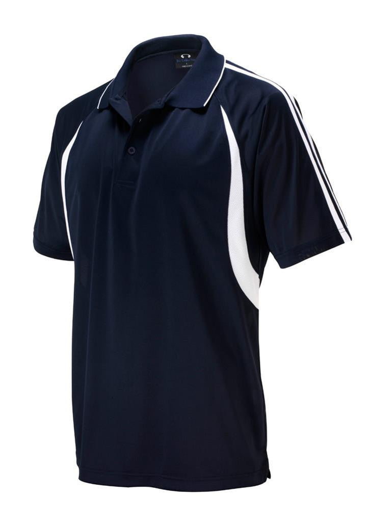 Biz Collection-Biz Collection Kids Flash Polo 1st ( 10 colour)-Navy / White / 4-Corporate Apparel Online - 11