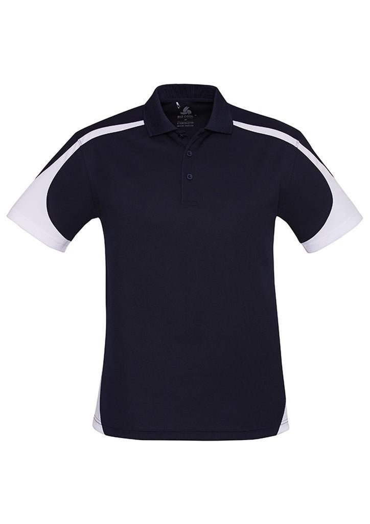 Biz Collection-Biz Collection Mens Talon Polo-Navy/White / S-Corporate Apparel Online - 9
