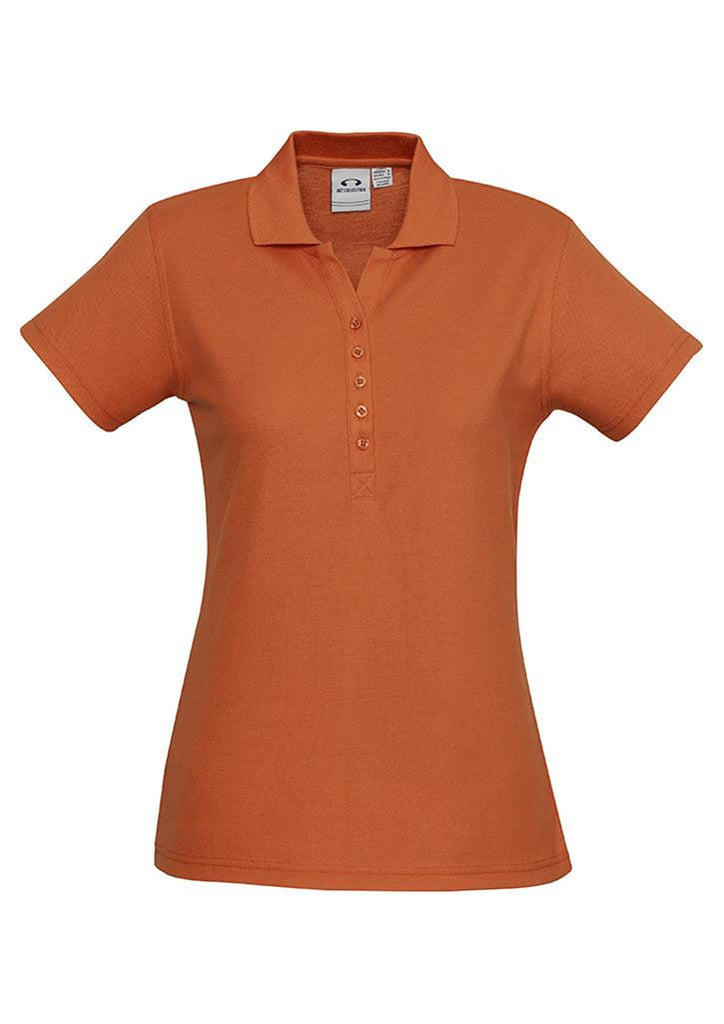 Biz Collection-Biz Collection Ladies Crew Polo(1st 10 Colours)-Orange / 8-Corporate Apparel Online - 7