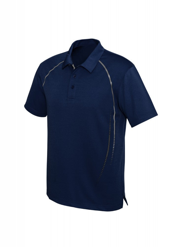 Biz Collection-Biz Collection Mens Cyber Polo-S / NAVY/SILVER-Corporate Apparel Online - 3