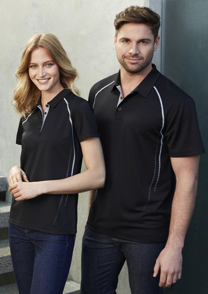 Biz Collection-Biz Collection Mens Cyber Polo--Corporate Apparel Online - 1