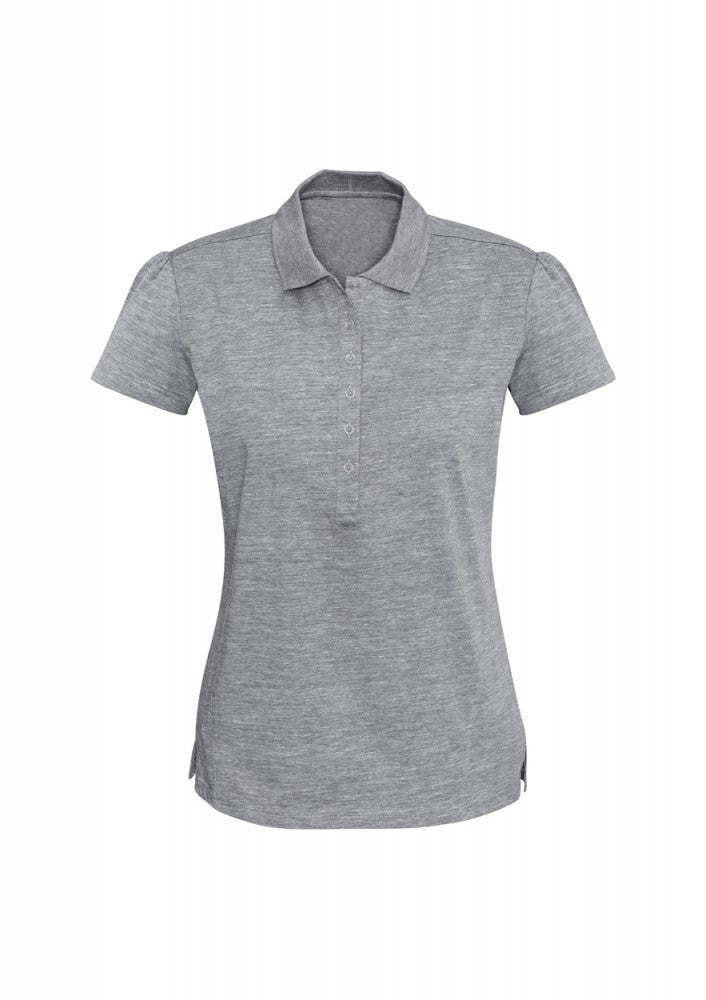 Biz Collection-Biz Collection Ladies Coast Polo-8 / SILVER GREY-Corporate Apparel Online - 3