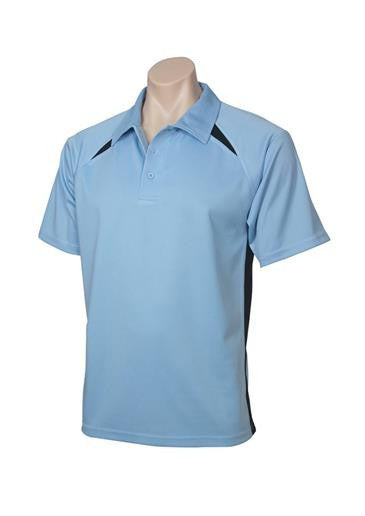 Biz Collection-Biz Collection Kids Bizcool Splice Polo-SPRINGBLUE/NAVY / 4-Corporate Apparel Online - 13