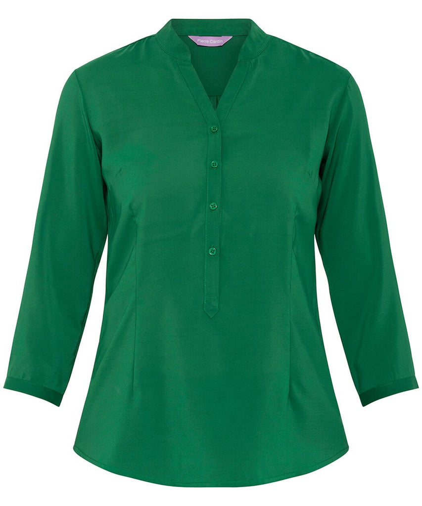 Van Heusen Women'S Relaxed Fit Jersey Top Polyester Elastane Three Quarter Sleeve (VHKS401)
