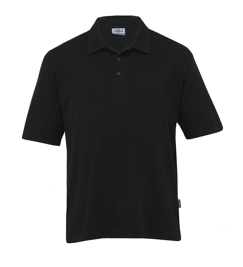 Gear For Life-Gear For Life Mens Pinacool Eco Polo-Black / S-Corporate Apparel Online - 2