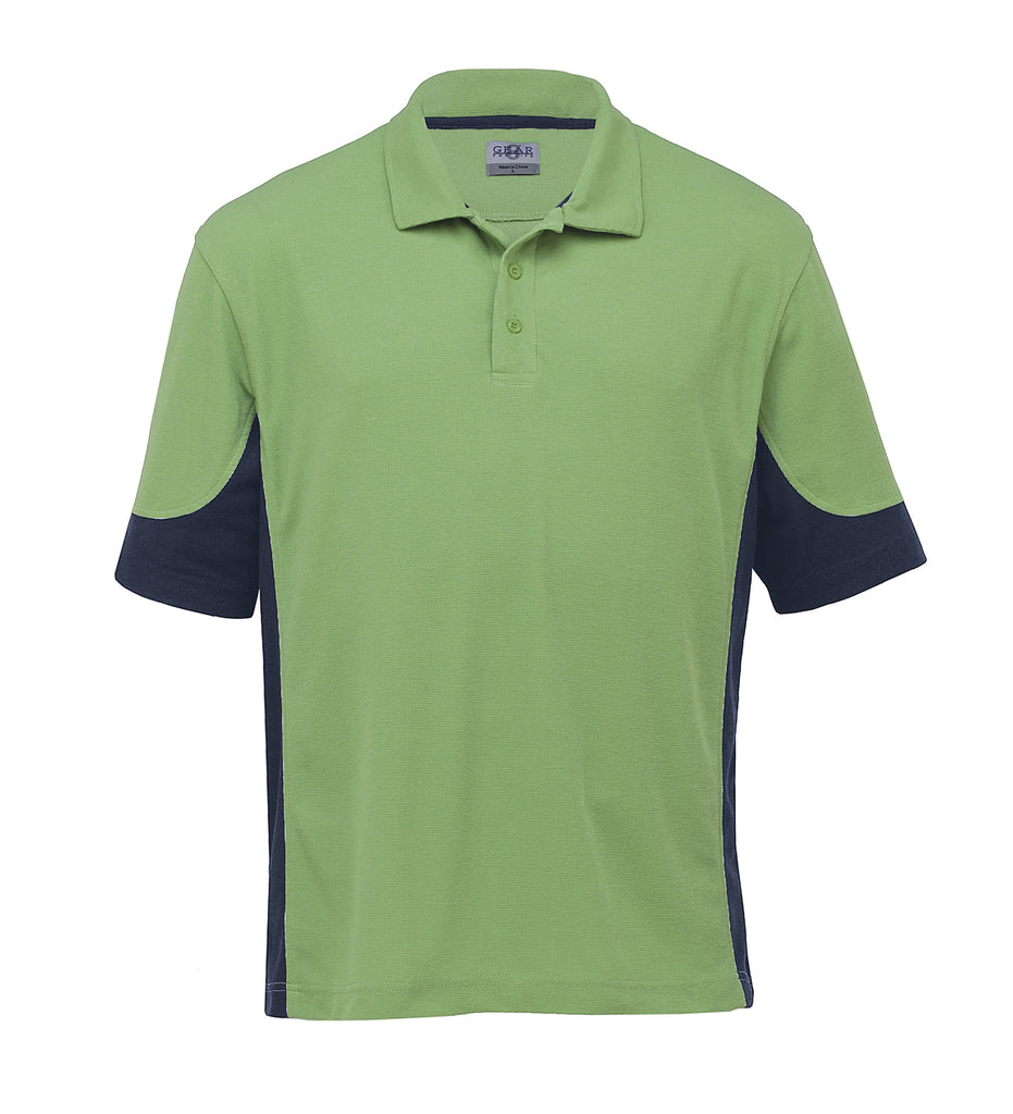 Gear For Life-Gear For Life Mens Quantum Duo Polo-Cool Lime/Navy / S-Corporate Apparel Online - 3