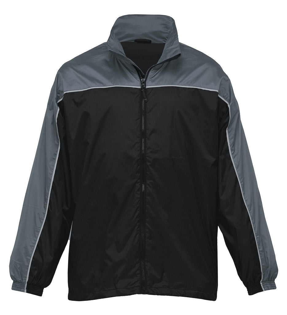 Gear For Life-Gear For Life Adult Ripstop Jacket-Black/Charcoal / 3XS-Uniform Wholesalers - 3
