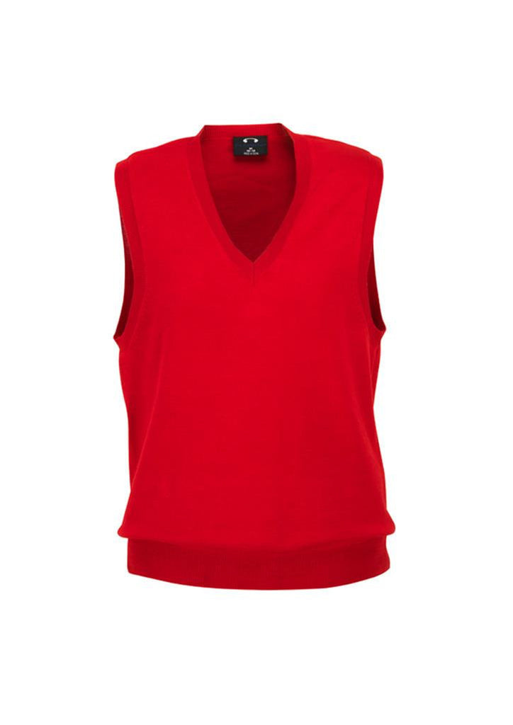 Biz Collection-Biz Collection Ladies V-Neck Vest-Red / S-Corporate Apparel Online - 5