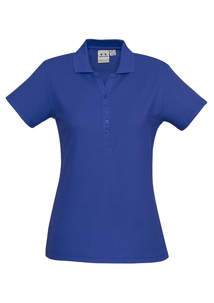 Biz Collection-Biz Collection Ladies Crew Polo(1st 10 Colours)-Royal / 8-Corporate Apparel Online - 3